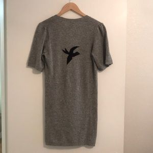 IRO Grey Sweater Dress